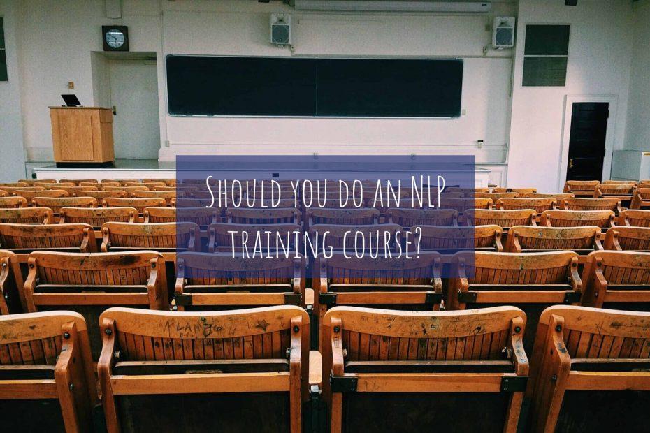 Should you do an NLP training course?
